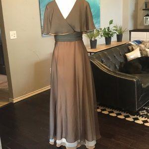 Vintage Cape Gown